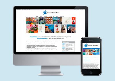 Peninsula Studio Trail – Web Design