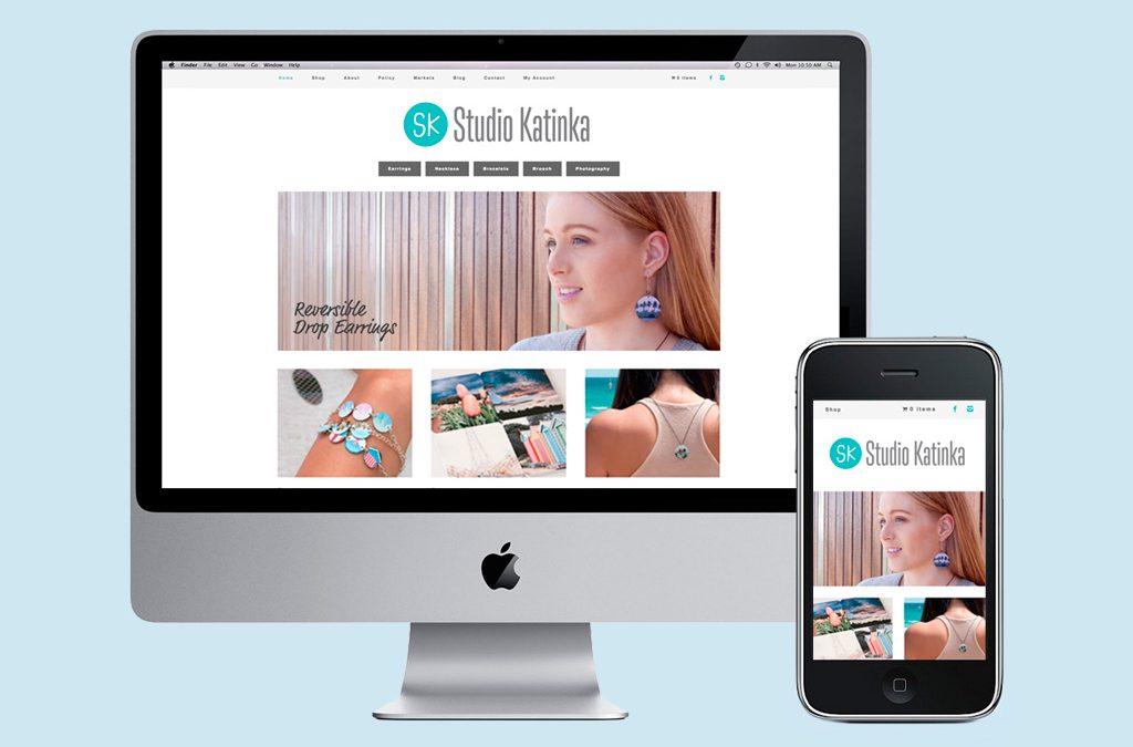 Studio Katinka – Web Design and Branding