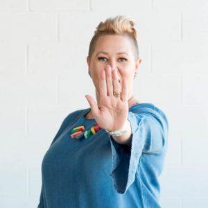 branded headshot Melbourne photographer fun on brand images by Katinka Kernutt